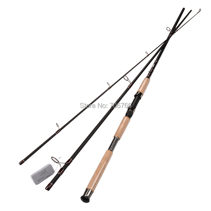 3pcs lot mh fast 3pce portable spinning fishing for Shipping fishing rods