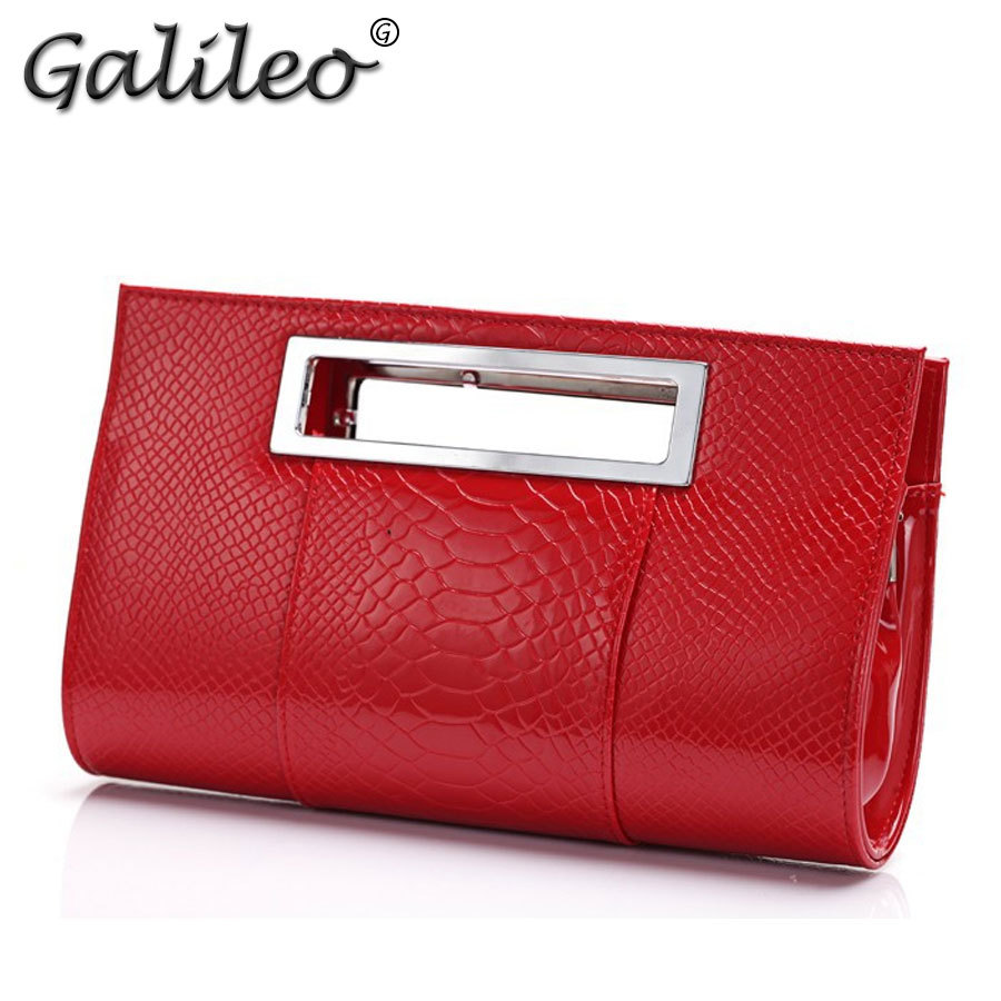 Гаджет  Factory price !Women PU alligator Leather handbag famous brand lady party evening day clutches totes bag shoulder bag with belt None Камера и Сумки