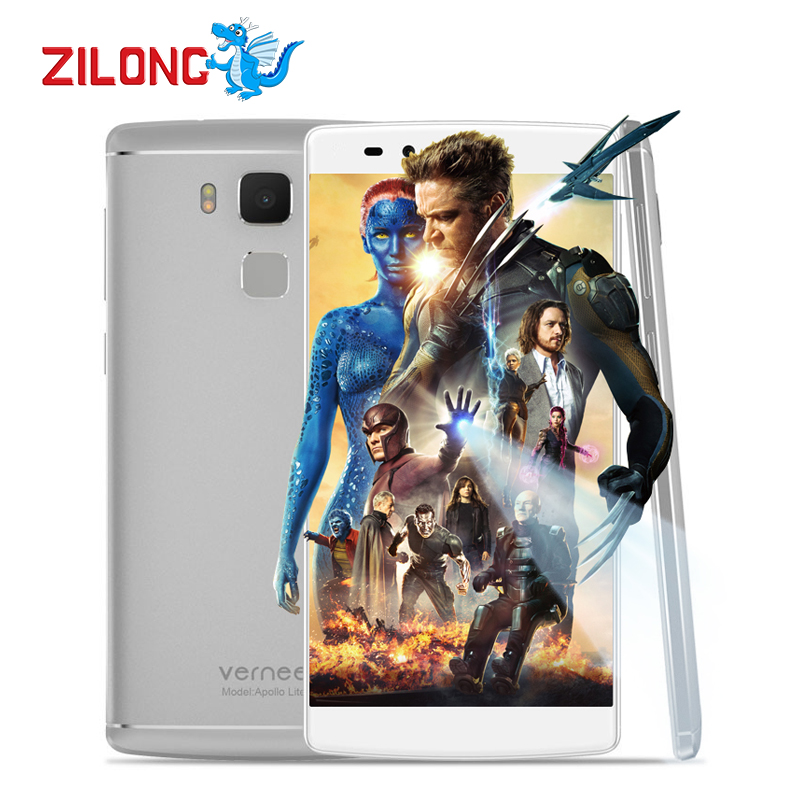 """Original 3180mAh Vernee Apollo Lite SmartPhone 5.5"""" Android 6.0 MTK6797 Deca Core 4GB+32GB 16.0MP Touch ID 4G LTE Mobile Phone(China (Mainland))"""