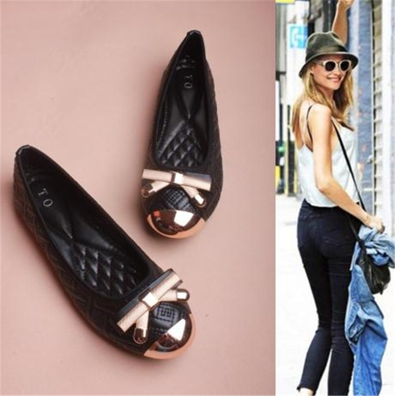 Spring Summer Flats Women Loafer  Low Heel Shoes Women's Flats Cute Bowtie Ballet Flats Casual Dress Formal moccasin Loafers