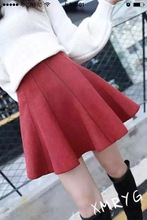 High waisted woman skirt casual short mini skirts womens ball gown tutu skirts black red gray khaki plus size autumn winter