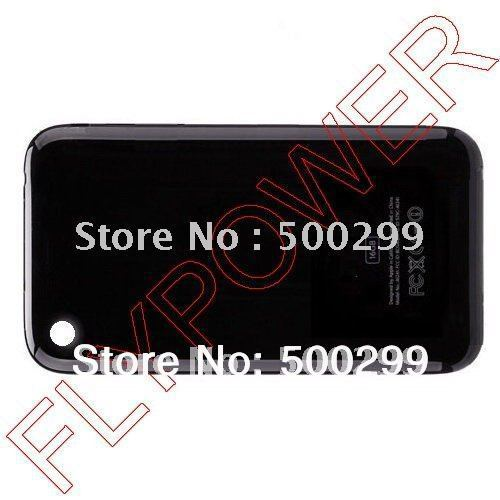 For iphone 3G Battery cover, back cover, battery door by free shipping; 5pcs/lot(China (Mainland))
