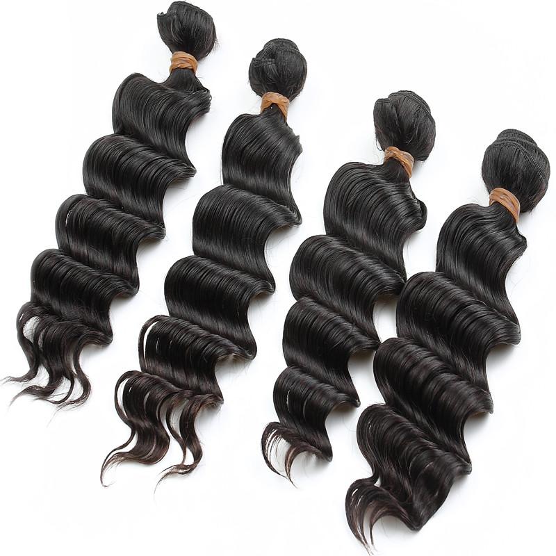 rosa hair products 7A peruvian deep wave virgin hair bundle deals 4 bundles unprocessed peruvian virgin hair human hair weave<br><br>Aliexpress
