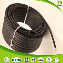 Anti-freeze Frost Protection Heating Cable For Water Pipe/Roof 230V 8MM 30W/M 65Temp Self Regulating Electric Heater Copper Wire