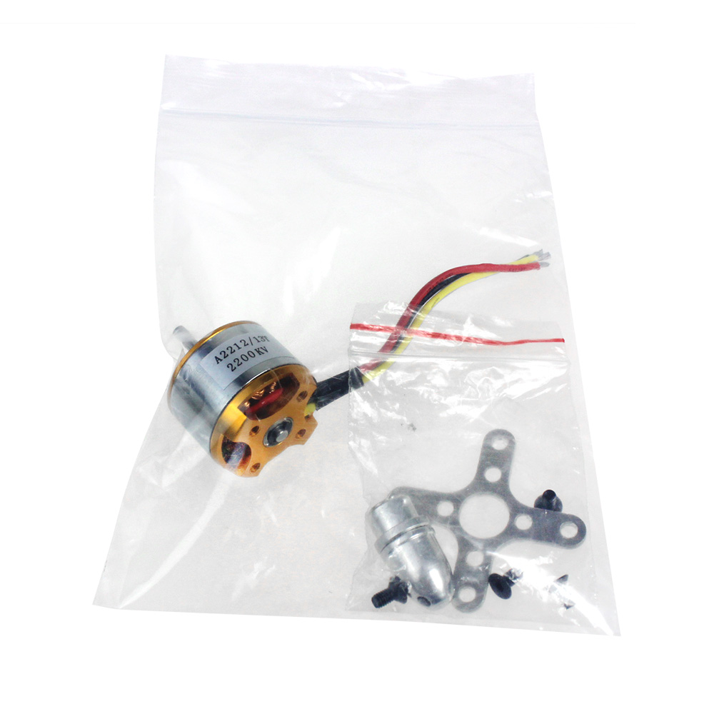 F02048 2212 A2212 2200KV Brushless Outrunner Motor Mount 6T RC Aircraft Plane Multi-copter Quadcopter Drone +FS