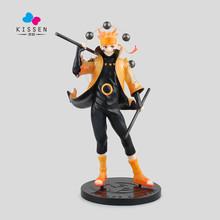 Kissen Action figure Naruto Uzumaki Six Immortal Mode Cartoon Doll PVC 21cm Box-Packed Japanese Figure World Anime