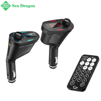 Free Shipping 3 Colors Car Kit MP3 Music Player Wireless FM Transmitter Radio Modulator With USB SD MMC+ Remote Control