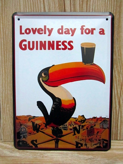 Vintage metal Tin signs wall art decor House bar cafe restaurant Have a guinness retro painting 15*21 CM GY-01019 Free shipping(China (Mainland))