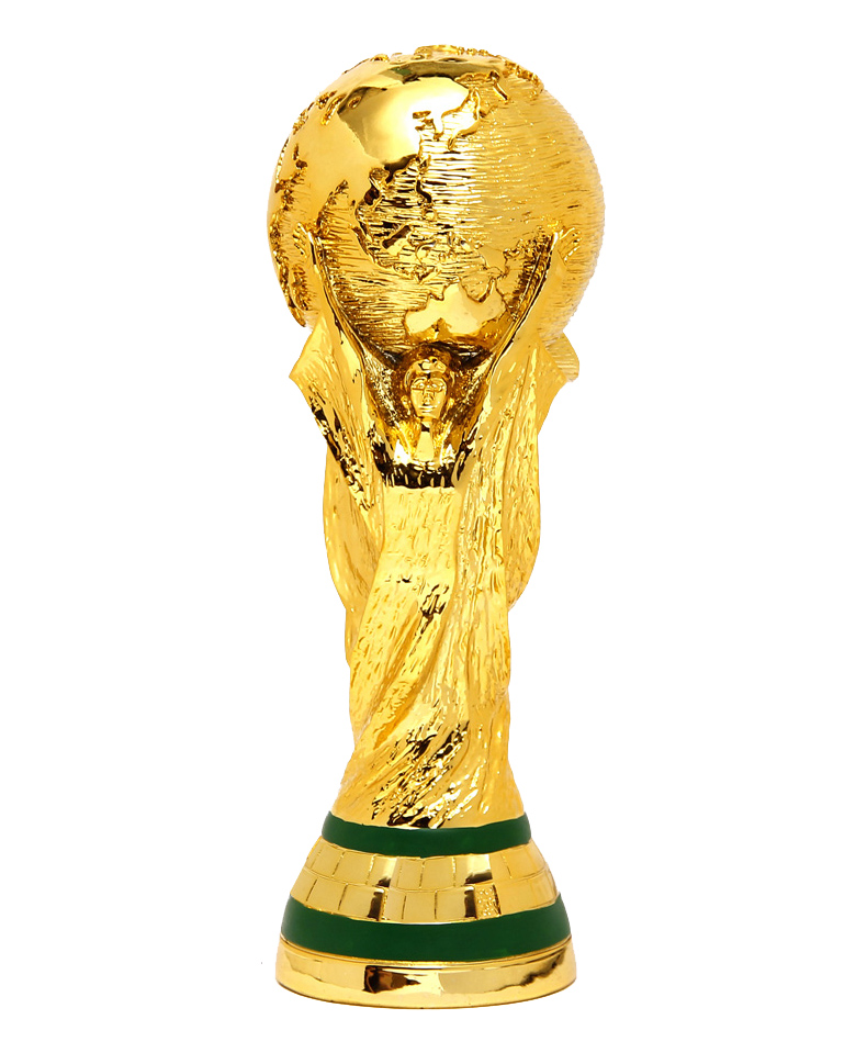 27cm World Cup Football trophy Figure Resin Replica Trophies Model Brazil World Cup Best Soccer Fan Souvenir Gift(China (Mainland))