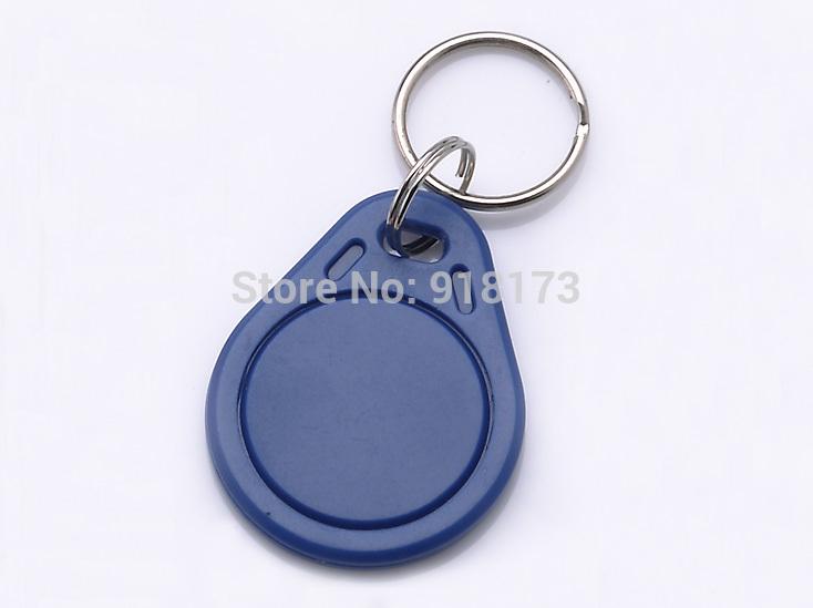 50pcs/bag RFID key fobs 13.56MHz  proximity  NFC NTAG203 keyfob tag for all nfc products<br><br>Aliexpress