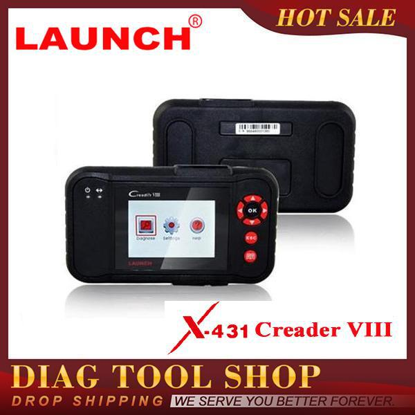 2015 HOT SELL Original Auto Code Reader Launch Creader VIII Equal To CRP129, Creader8 Support Full OBD2 Functions Prints via PC(China (Mainland))