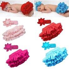 Wholesale - free shipping 6set/lot baby headband + lace skirt,baby cake skirt 3 SIZE 4 COLOR(China (Mainland))