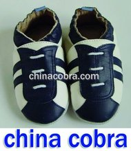 free shipping baby leather shoes new design(China (Mainland))