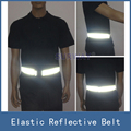 New High Visibility Elastic Safety Reflective Vest Belt Waistband Chaleco Reflector for Night Outdoor Running Cycling