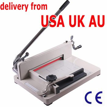 858A4 PAPER CUTTER MACHINE NEW INNOVATIVE FLOATING SIDE GAUGE HARDENED PRECISION STEEL BLADE