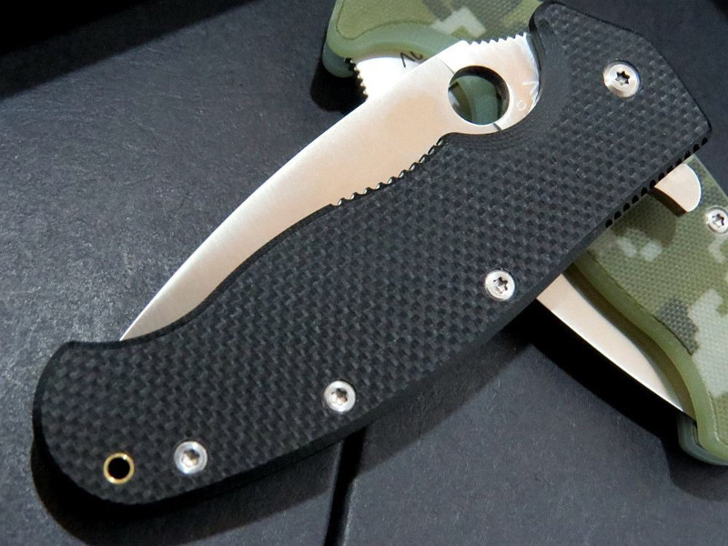 Buy 2017 New Outdoor Hunting Knife Survival Tactical knifes 9cr13 Blade Stainless Steel Hunting Folding Knife G10 Handle cheap