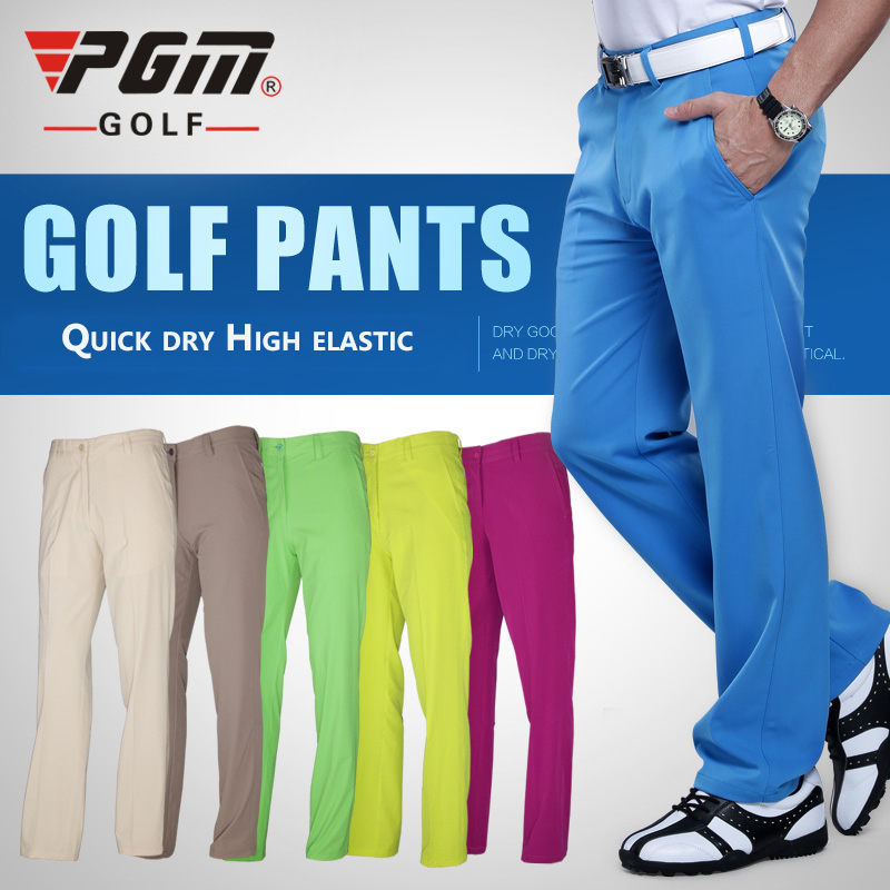 New PGM authentic golf pants for men waterproof trousers high elastic breathable Golf clothing fashion sport men pants tide