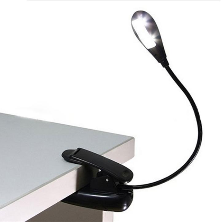 Delicate Mini Super-bright Clip-On LED Book Light Reading Light nice(China (Mainland))