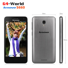 Original LenovoS660 Phone WCDMA Android 4.2MTK6582 Quad Core 1.3GHz 4.7″ IPS 1GB +8GB 8.0MP 3000mAh
