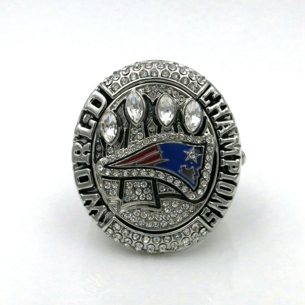 Free Shipping NFL 2014 New England Patriots Super Bowl Championship Rings American Football World Champion Rings(China (Mainland))