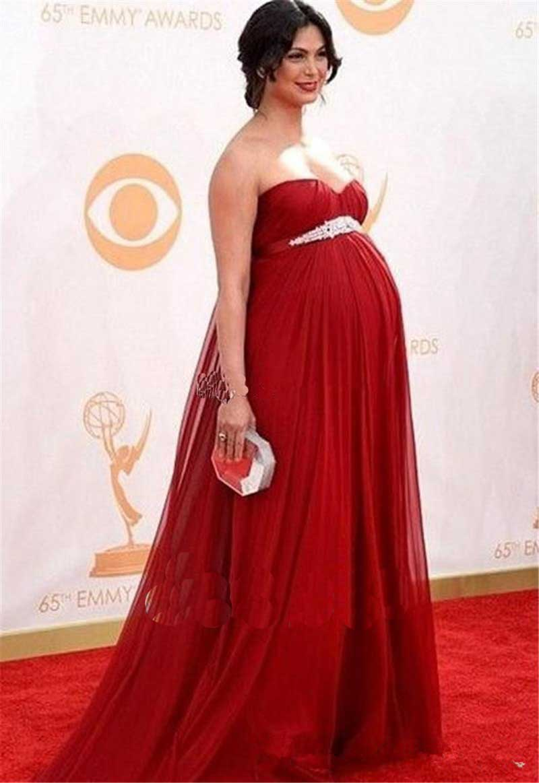 Платье в пол для беременных