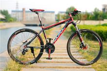 2015 Sale Bicicletas Folding Bike Laux Jack 26inch Mountain Bike Hydraulic Dual Disc Brake 24speed Alloy