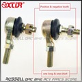 Joint Ball U joint 10mm M10 Ball Head Tie Rod End for ATV Quad Turn joint