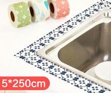 Buy 2PCS/SET 250cm*5cm Seams Waterproof Stick Kitchen Gap Stickers Toilet Antifouling kitchen sticker Home decoration wall stickers for $10.42 in AliExpress store