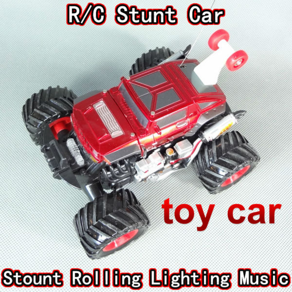 free shipping rc radio remote control stunt dancing car cars truck hummer special children toys