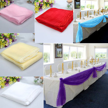 Organza Bow for Table Runners Wedding Banquet Decoration