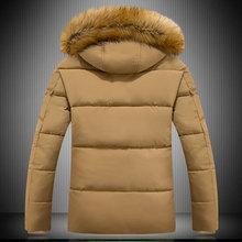 2015 New Arrival Winter Coat Men Jacket Thicker Keep Warm Casual Wear Long Style Hooded Fashion