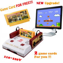 New Upgrade Subor D99 Game Console Nostalgic original Family TV video games consoles player with free 500 games card(China (Mainland))