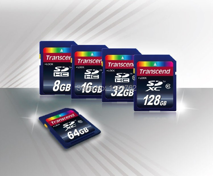 HOT!!Flash Memory CARDS SD Card 8gb 16gb 32gb 64gb Sd card 64GB SDHC SDXC new transcend class10 memory card CLASS10 Promotion(China (Mainland))