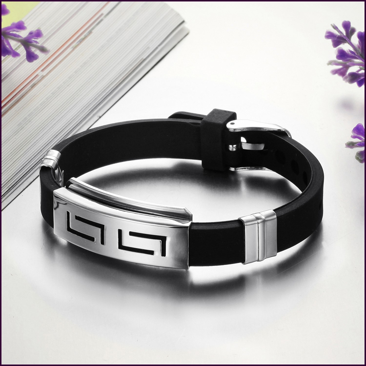 Si New Fashion Jewelry Charm Wrap 316l Stainless Steel. Boy Lockets. Moon Lockets. Colorful Bracelet. Matching Bands
