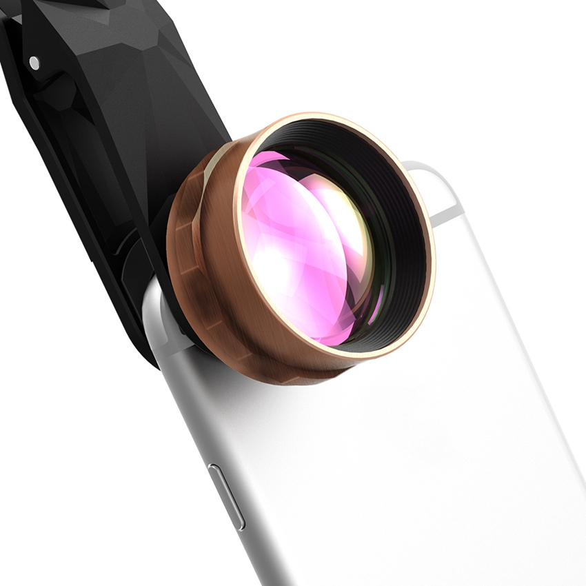 2X HD Telephoto Lens Cell Phone Camera Lens Kit No Distortion No Dark Circle for iPhone, Samsung, HTC, Android Smart Phones(China (Mainland))
