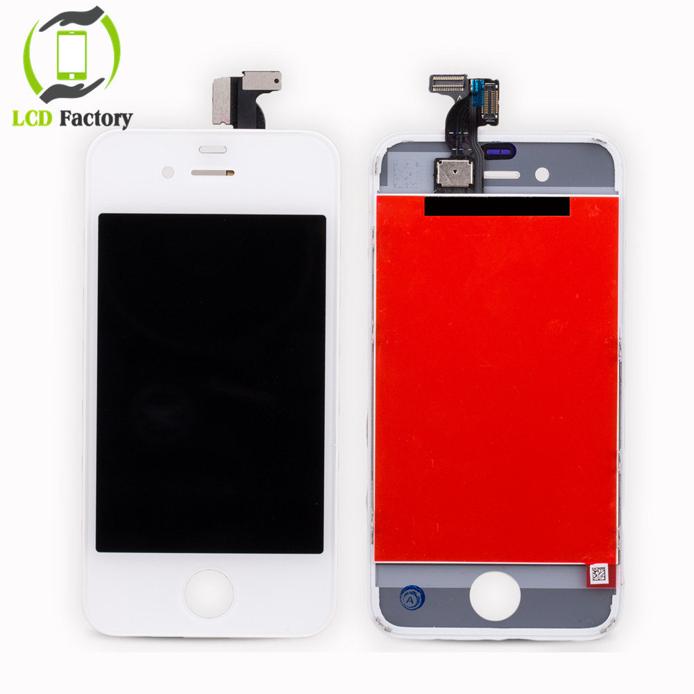 Hot Sale For iPhone 4 4G LCD Screen Display with AAA Quality Touch Digitizer Assembly Pantalla Black&White free shipping(China (Mainland))
