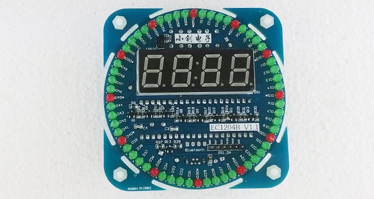 Часы с aliexpress схема для сборки