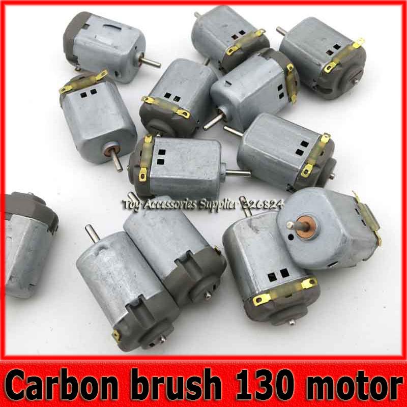 Carbon brush 130 DC high speed small motor 3V 6V high torque toy Four-wheel drive car motors(China (Mainland))