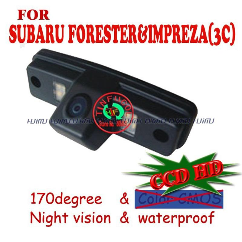 CCD HD night vision car camera car rear camera car monitor parking system backup viewer for SUBARU FORESTER&IMPREZA(3C)/OUTBACK(China (Mainland))