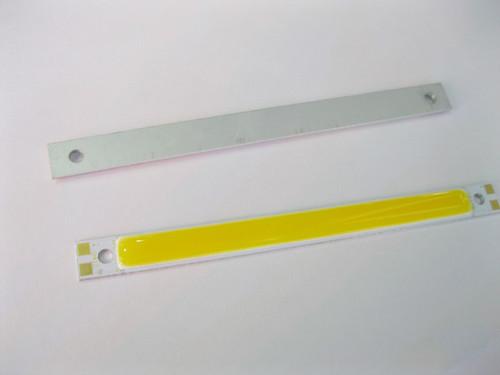 Rectangle 3W COB LED lamp light bulb 12V -14V cool white warm white for DIY Size:10mm *120mm(China (Mainland))