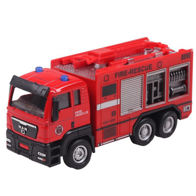 1:55 Garbage Truck Waste truck Fire engines transport Diecasts Toy Vehicles Brinquedos Crane Model Toy as Gift for Boy Children(China (Mainland))