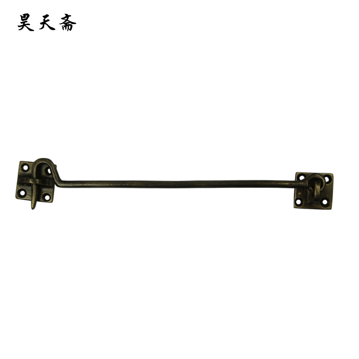 [Haotian vegetarian] new Chinese antique Ming and Qing Ming copper wind hook windows live classical copper fittings HTH-138<br><br>Aliexpress