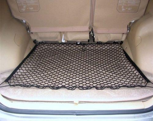 Yibaisite- Car Cargo Net Puls Size Universal 4 Hook Car Mess Trunk Cargo Net Organizer Storage Holder 100cm *100cm For SUV(China (Mainland))