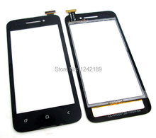 free shipping BLACK Touch Screen Digitizer Glass PANEL For BEDOVE X12(China (Mainland))