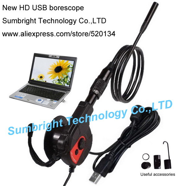 SB-IE88AS-5.5mm Factory Promotion IP67 Diagnostic Tool Industrial Digital Motorcycle Car Borescope Auto HD waterproof endoscope(China (Mainland))
