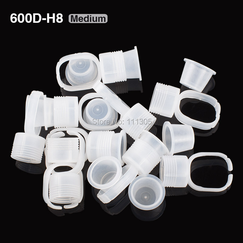 Free Shipping 100pcs/lot Disposable Pigment Holder Rings Medium Size Tattoo Ink Well Holder Tools Tattoo Supplies<br><br>Aliexpress