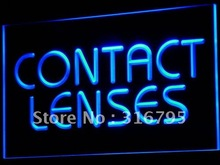 i491-b Contact Lenses Optical Shop Glasses Light Sign wholeselling Dropshipper(China (Mainland))