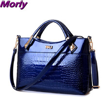 New tide  Women Handbag Genuine Crocodile Leather Crossbody Bags Brand Tote Fashion Women Shoulder Bag Clutch Bolsas