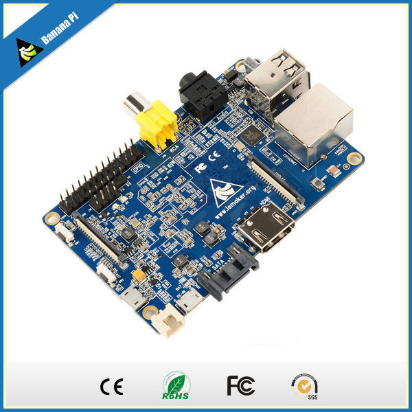 FREE SHIPPING!!Single Board Mini PC with 1 GB RAM for Simple Programming Scratch by Banana Pi(China (Mainland))