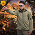 2016 Outdoors TAD Polar Fleece Tactical Stretch Solid Hoodies Thermal Military Warm Jacket Multi Pocket Mens